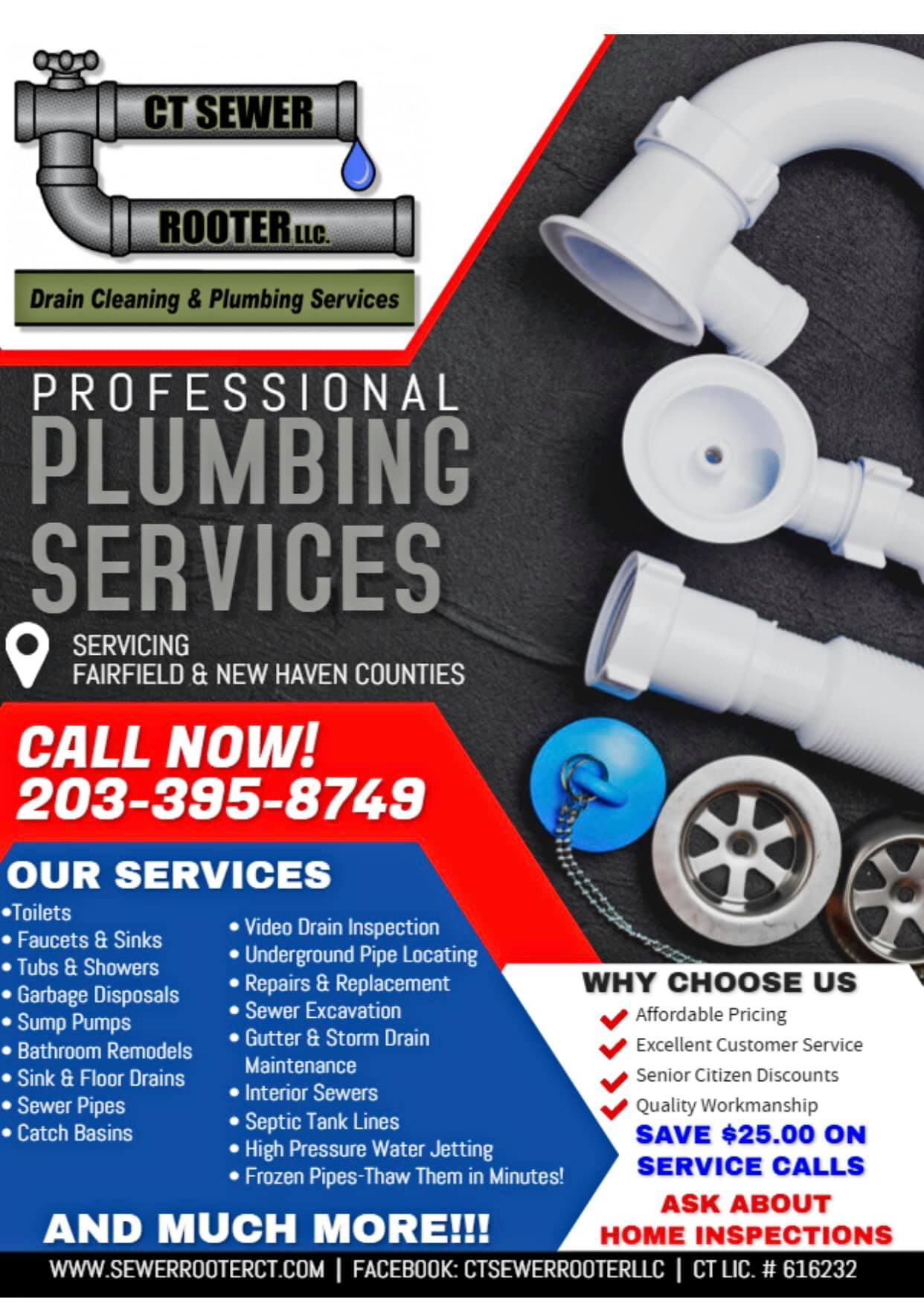 Drain Cleaning Amp Plumbing Services Ct Drain Cleaning New