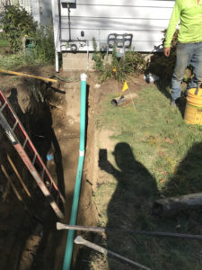 Sewer Line Replacement - 5